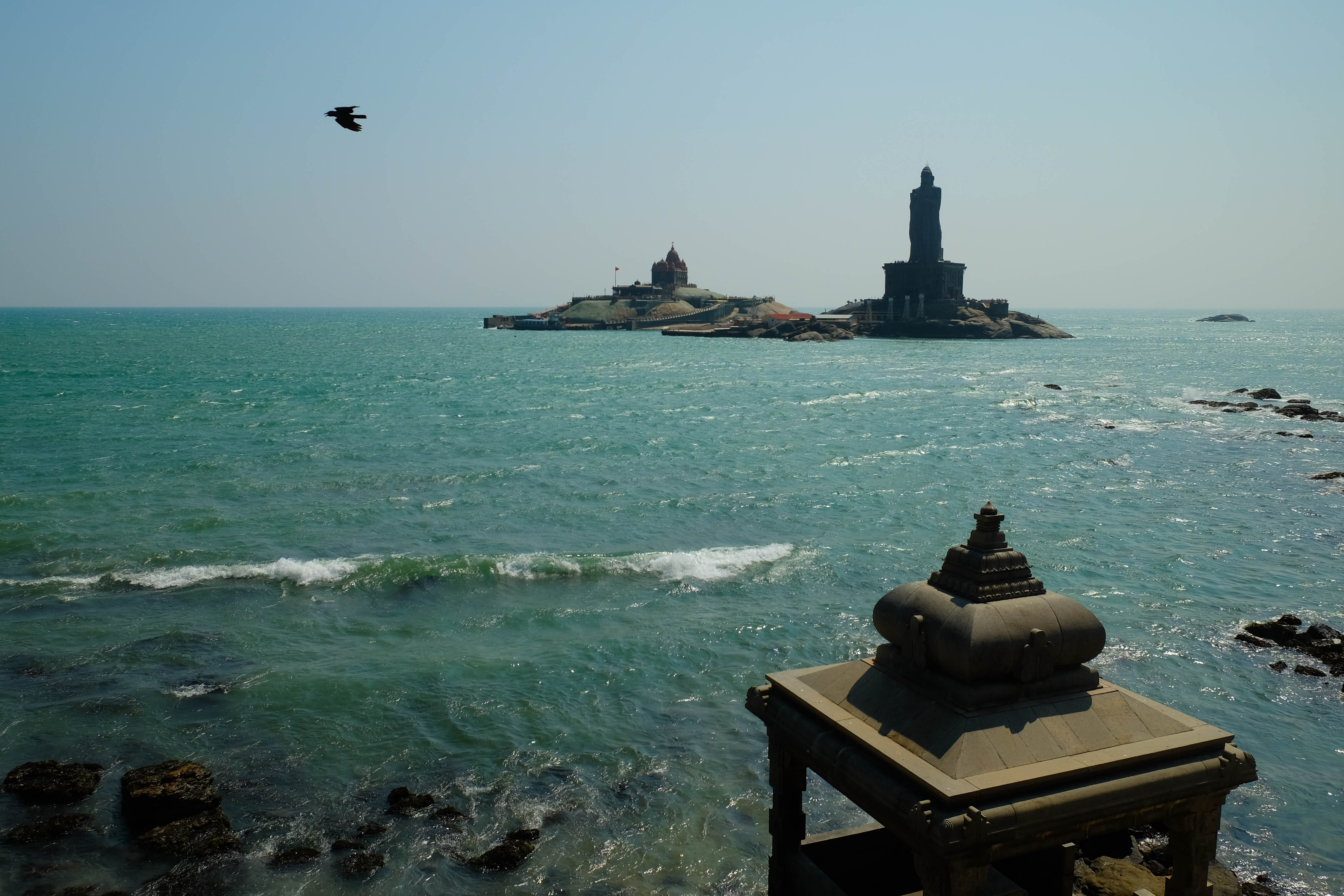 Photo du Vivekananda Memorial a Kanyakumari