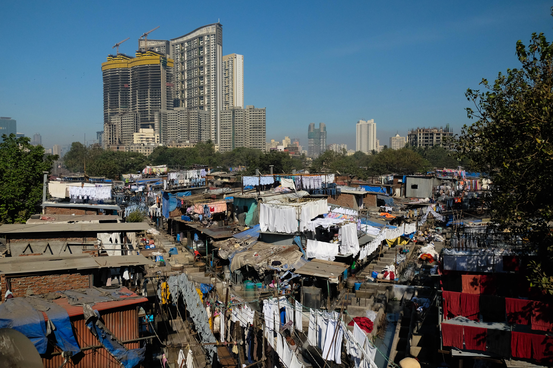 Les machines à laver c'est comme ça en Inde