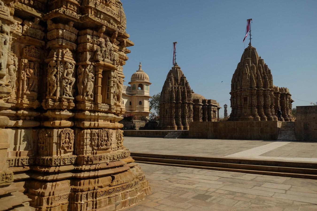 temples Jaïn au fort de Chittorgarh