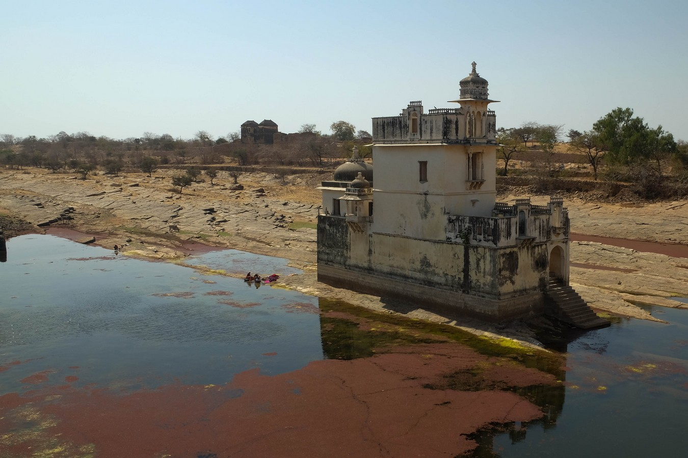 Le pavillon Padmini haveli à Chittorgarh