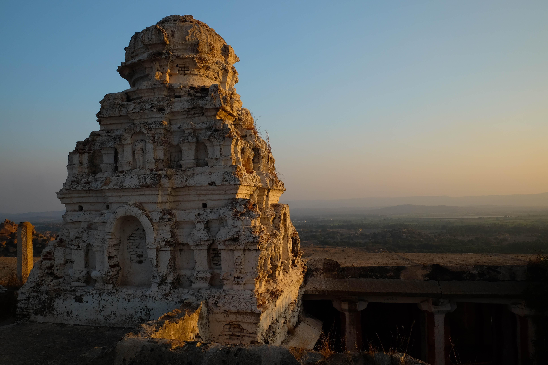 Temple de Mattanga Hill à Hampi