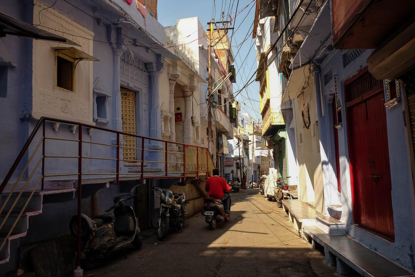 Dans les rues d'Udaipur