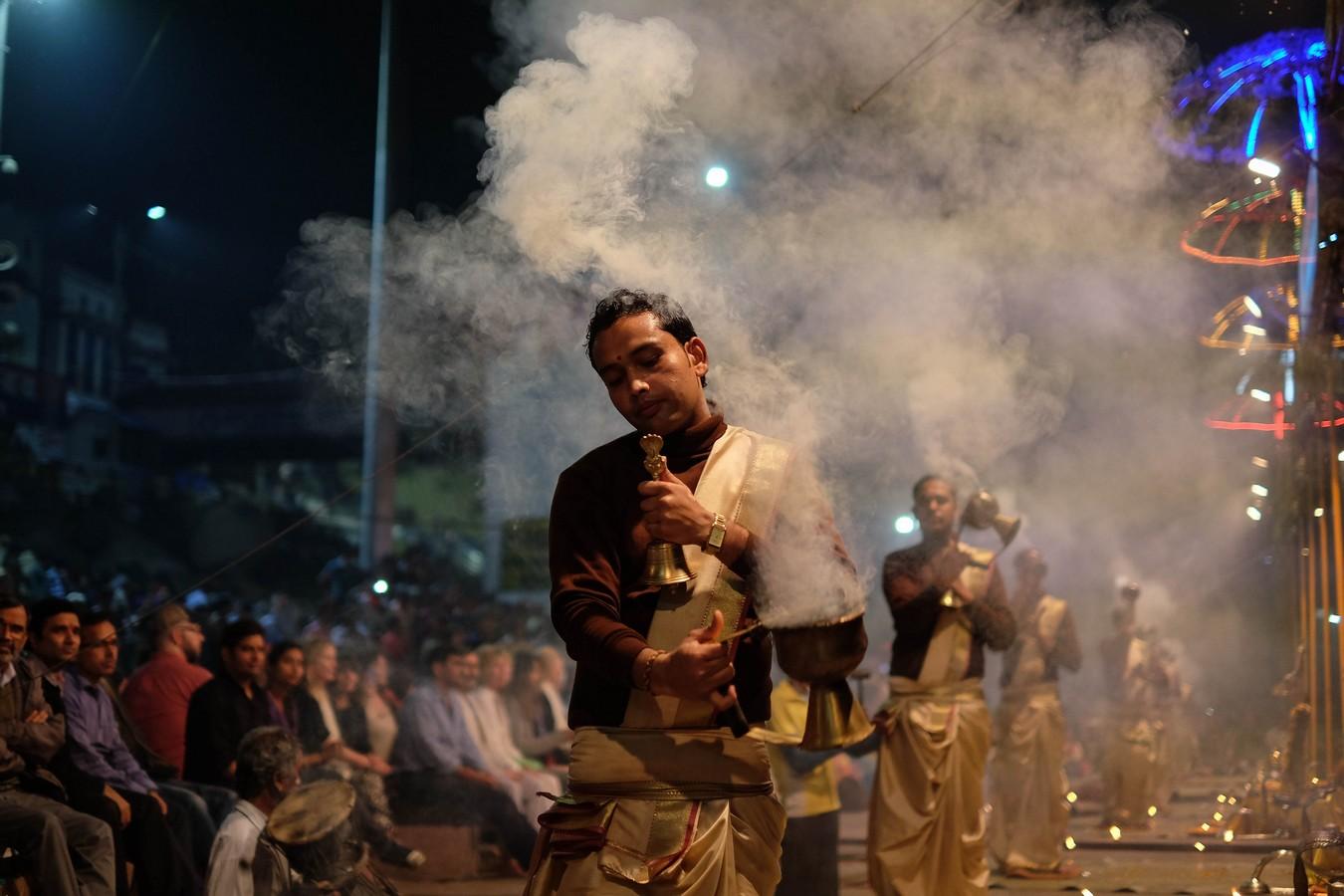 Rite de la Puja de Varanasi
