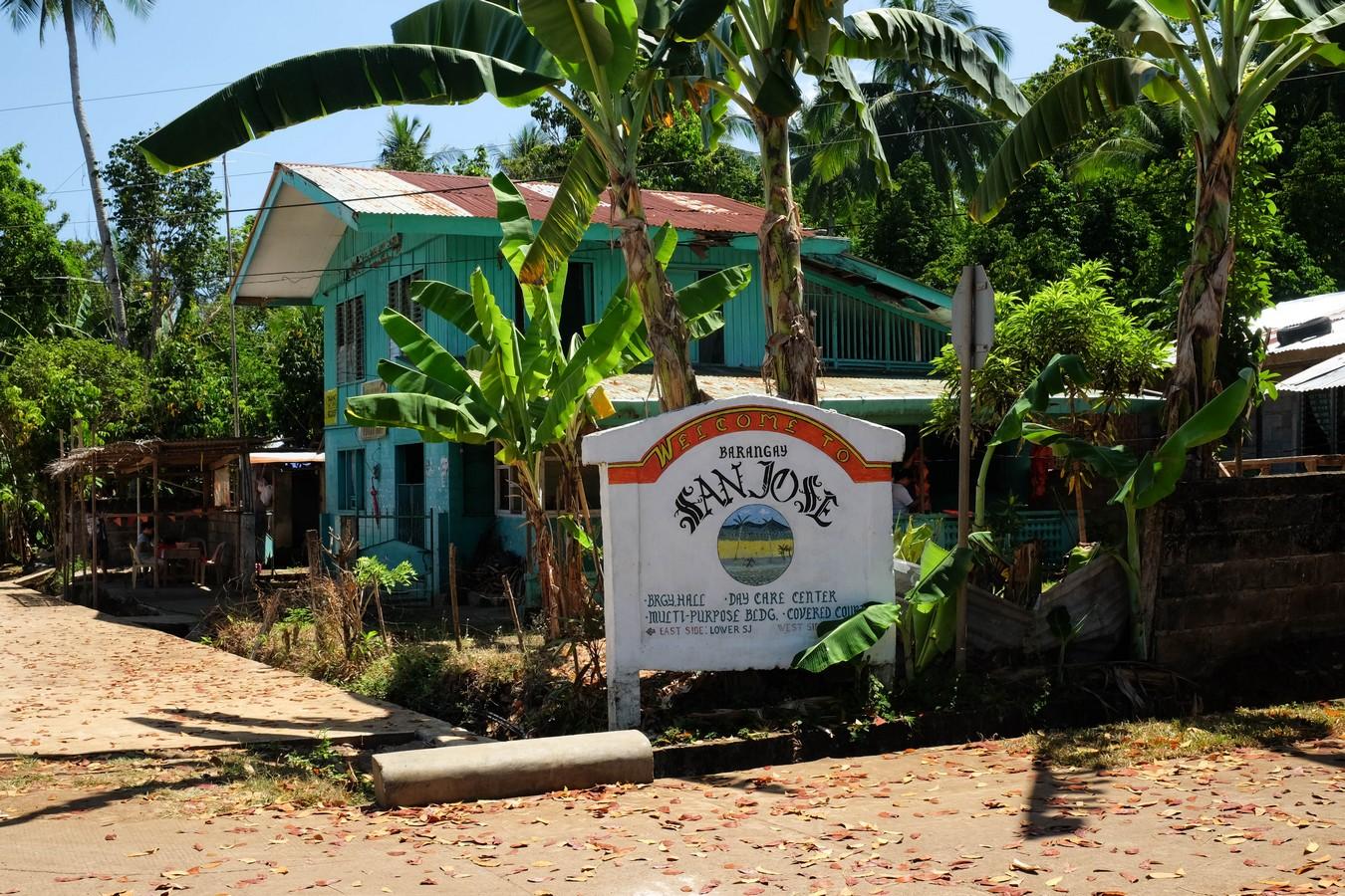 Village de San José à Camiguin aux Philippines.