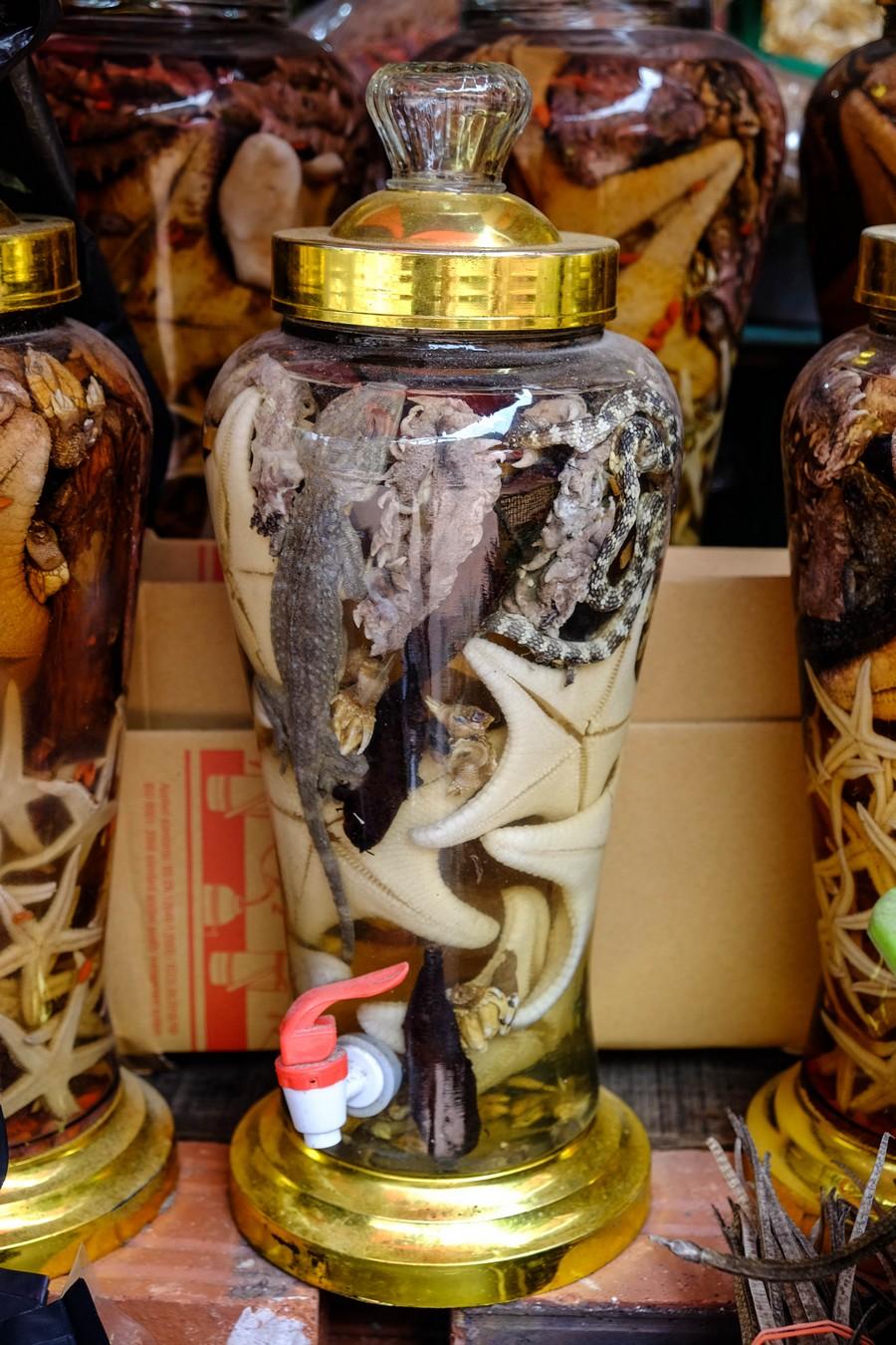 Alcool de tout au Vietnam