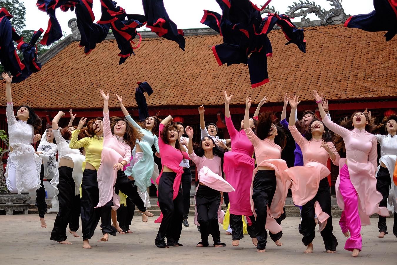 Diplôme obtenu à l'université d'Hanoi
