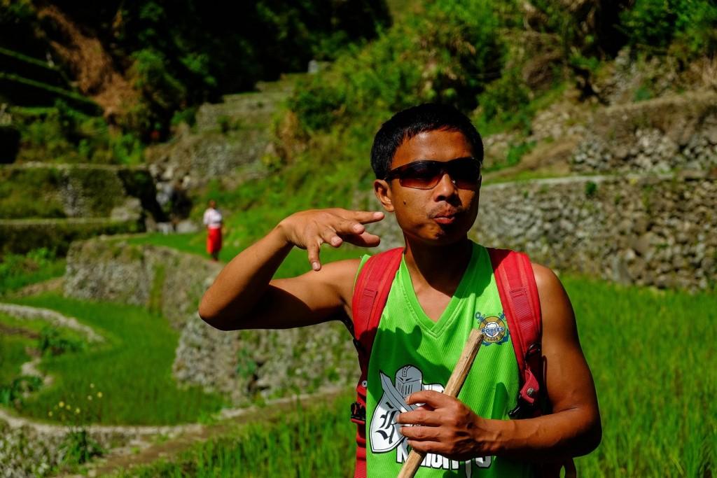 JJ, guide de trek à Banaue