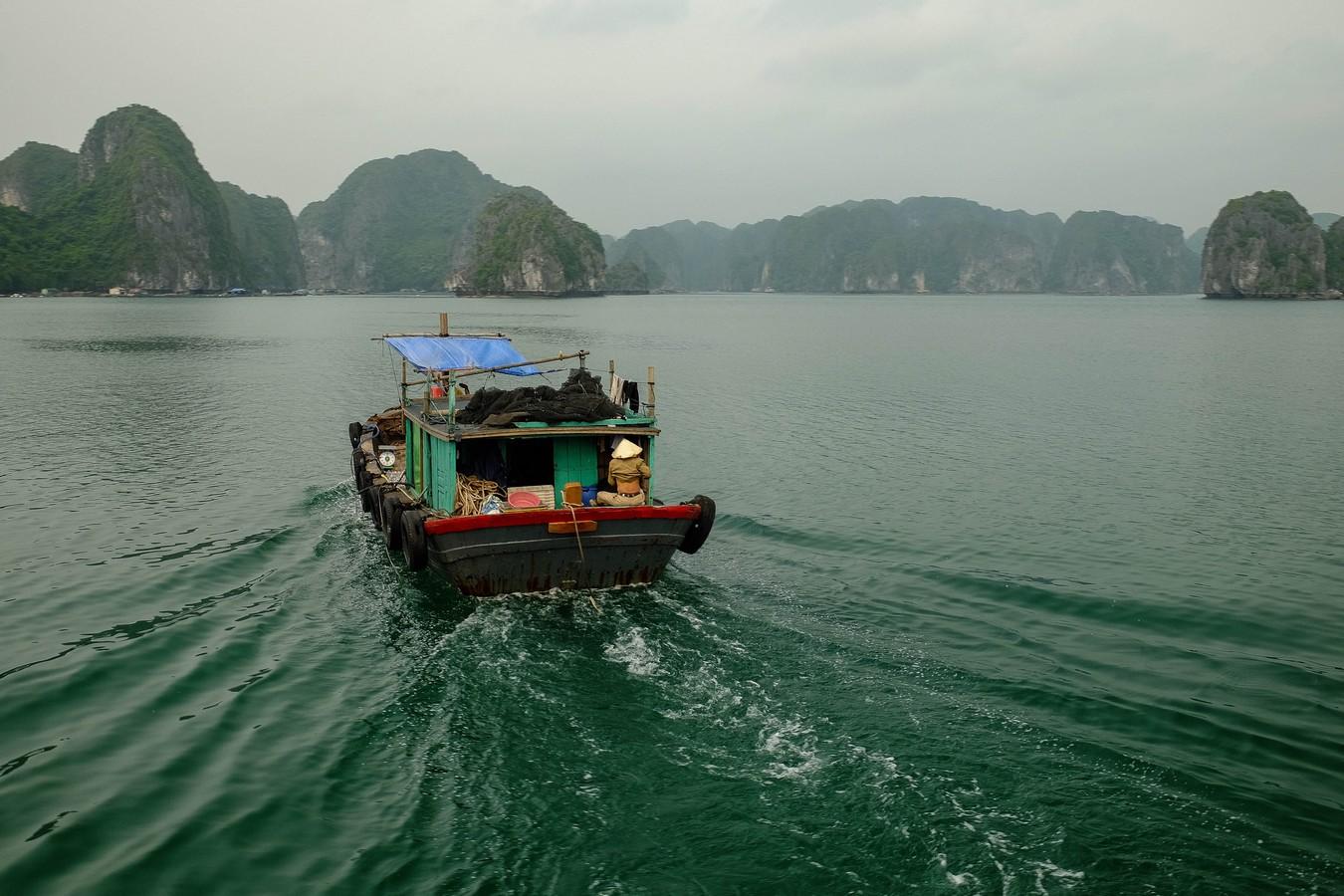 Baie de Lan Ha au Vietnam