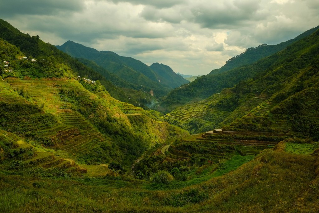 La vallée de Banaue à Batad