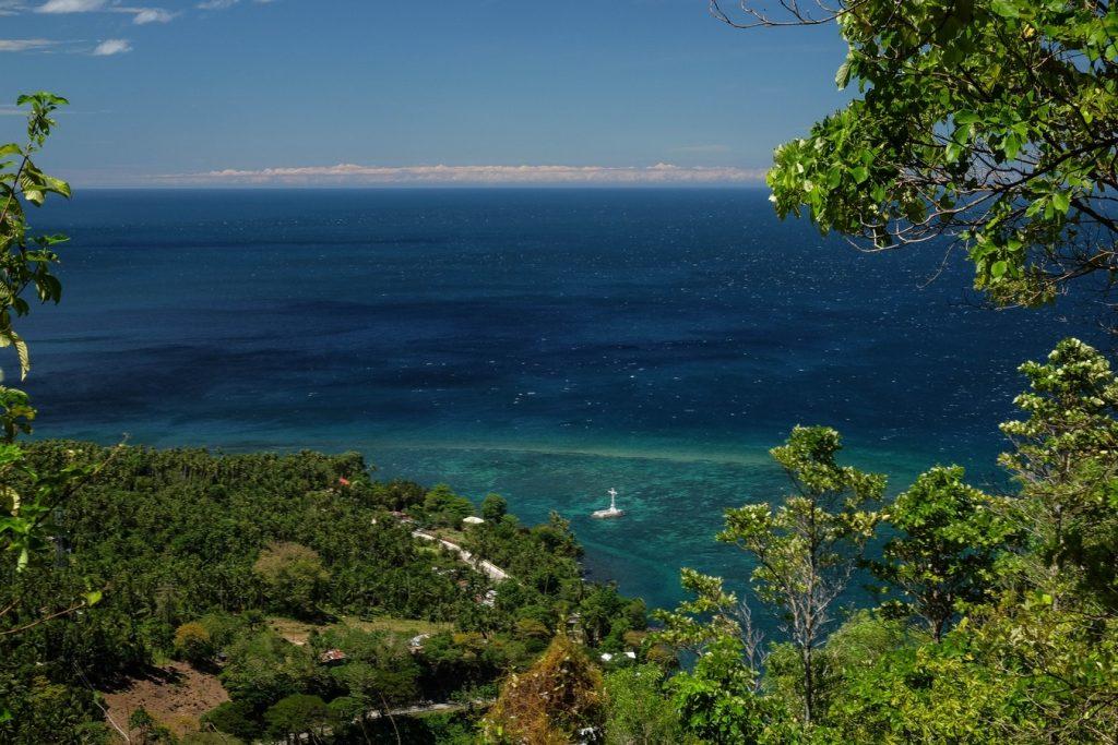 Sunken Cemetry vue d'en haut à Camiguin aux Philippines