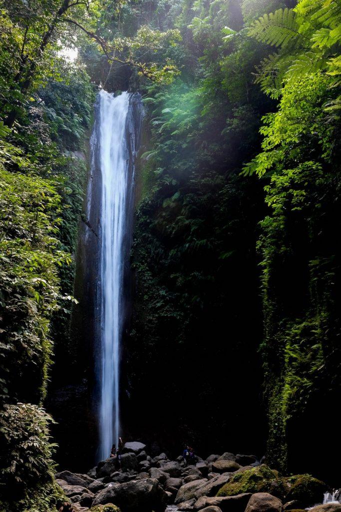 Cascade de Casaroro à Negros aux Philippines