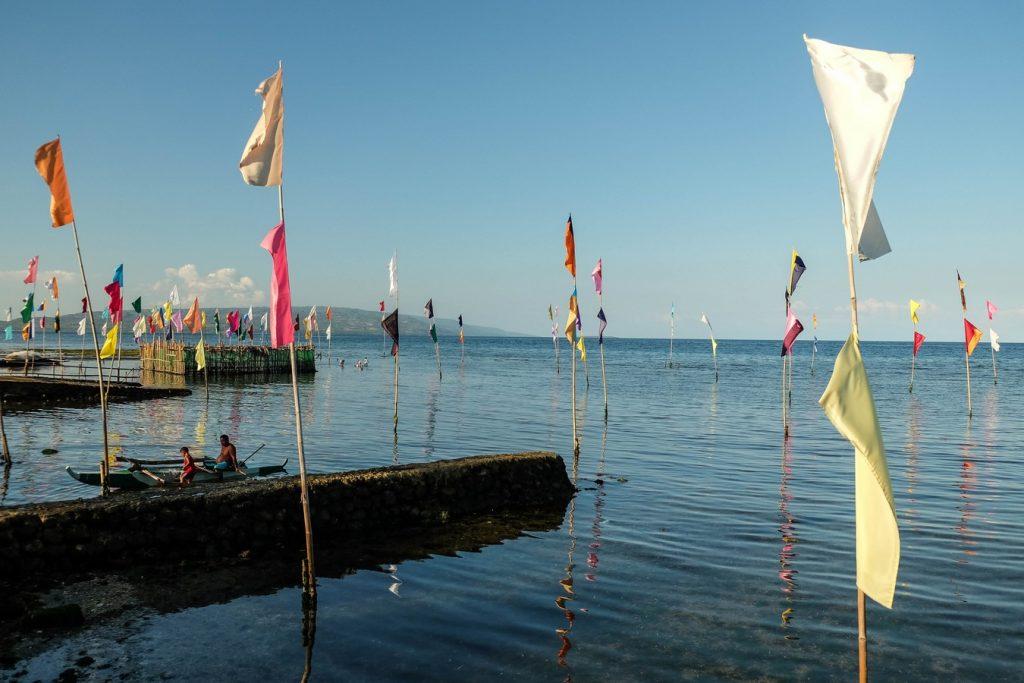 Bord de mer à Dumaguete aux Philippines