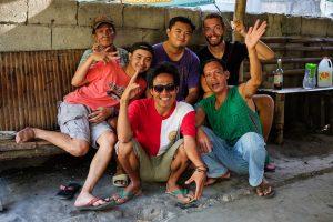 Rencontres aux Philippines avec une famille à Valencia près de Dumaguete.