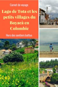 Visiter Sogamoso, le lago de tota et les petits villages du Boyacà en Colombie.