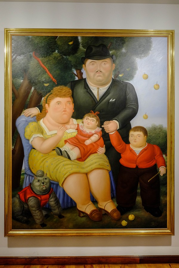 La famille improbable de Fernando Botero, Bogota, Colombie