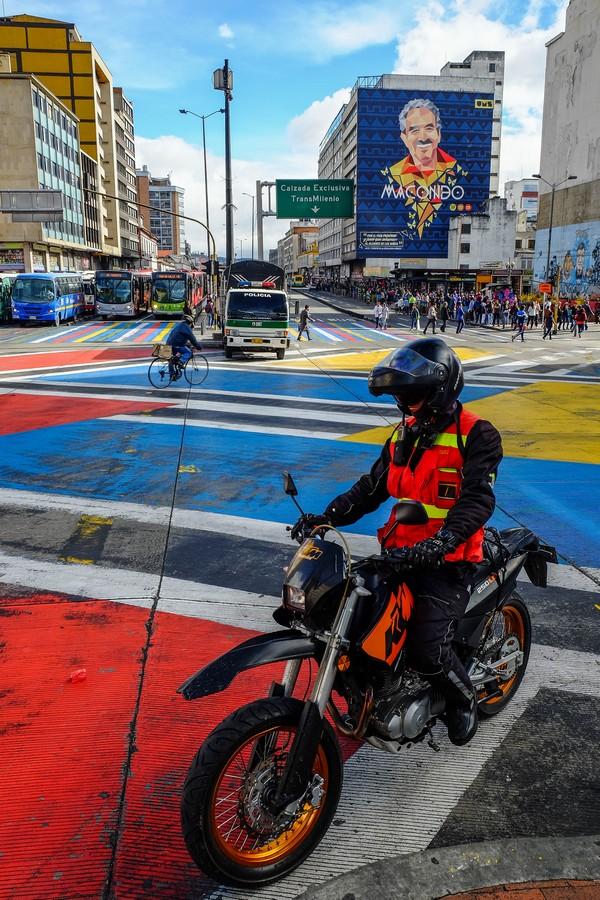 Visiter Bogota et ses rues colorées.