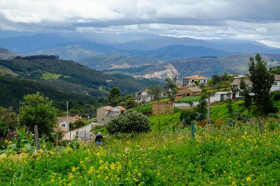 Les Alpes Colombiennes, région de la Boyaca