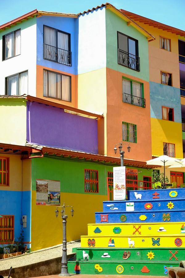 Visiter Guatape et ses rues en Colombie.