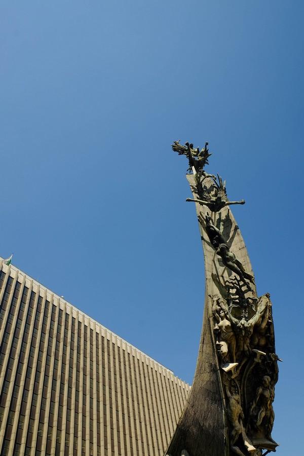 Monument à la gloire de la Colombie, à Medellin