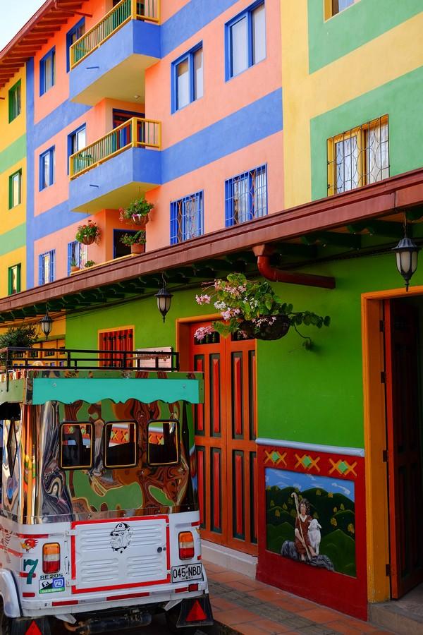 Guatape, un village haut en couleurs en Colombie
