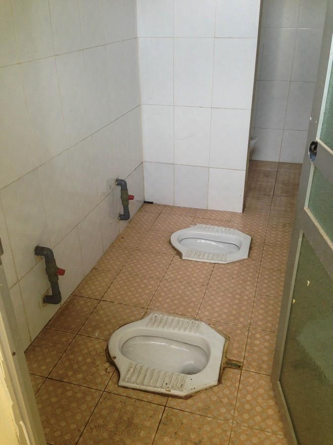 Toilettes à la turque Vietnamiennes
