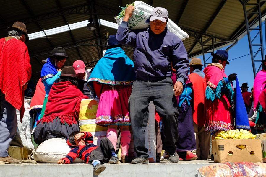 marche-guamote-equateur-riobamba