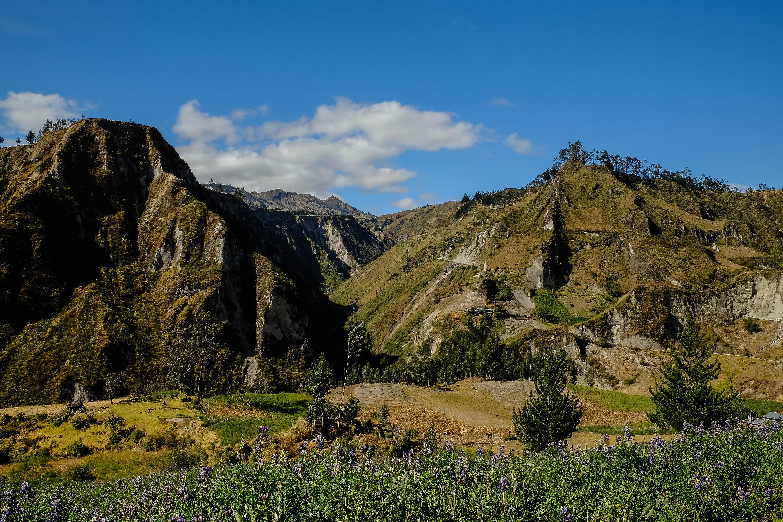 Un petit air des Alpes au milieu de l'Equateur
