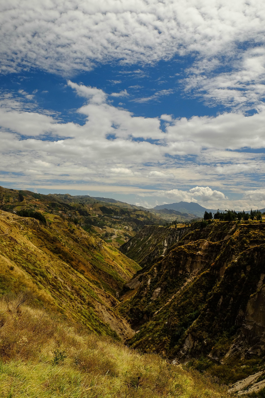 Canyon de Chugchilan sur la Quilotoa Loop