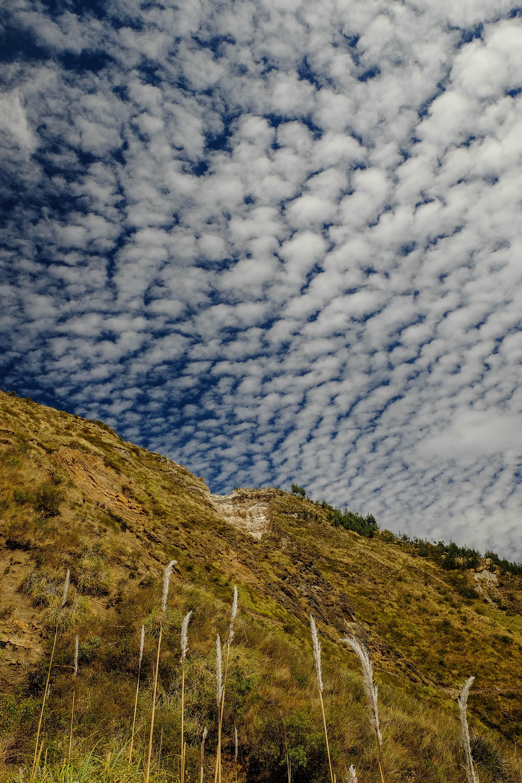 Nuages sur la Quilotoa Loop, Equateur