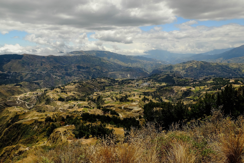 Vallée de Chugchilan, quilotoa Loop, Equateur