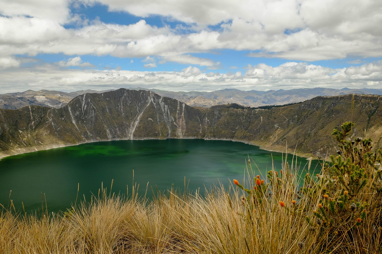 Lagune du Quilotoa, Equateur