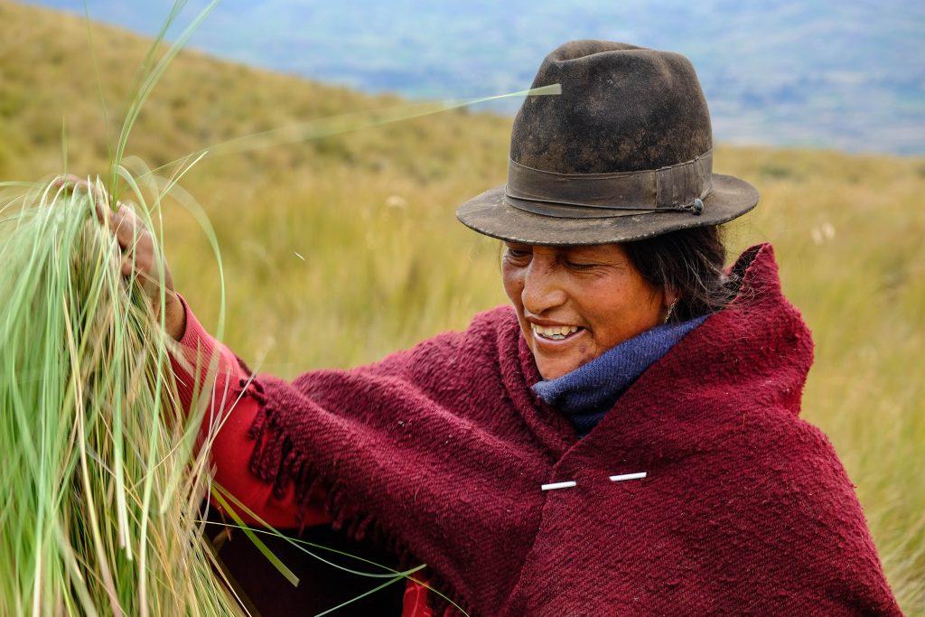 Préparatifs avant l'ascension du Chimborazo