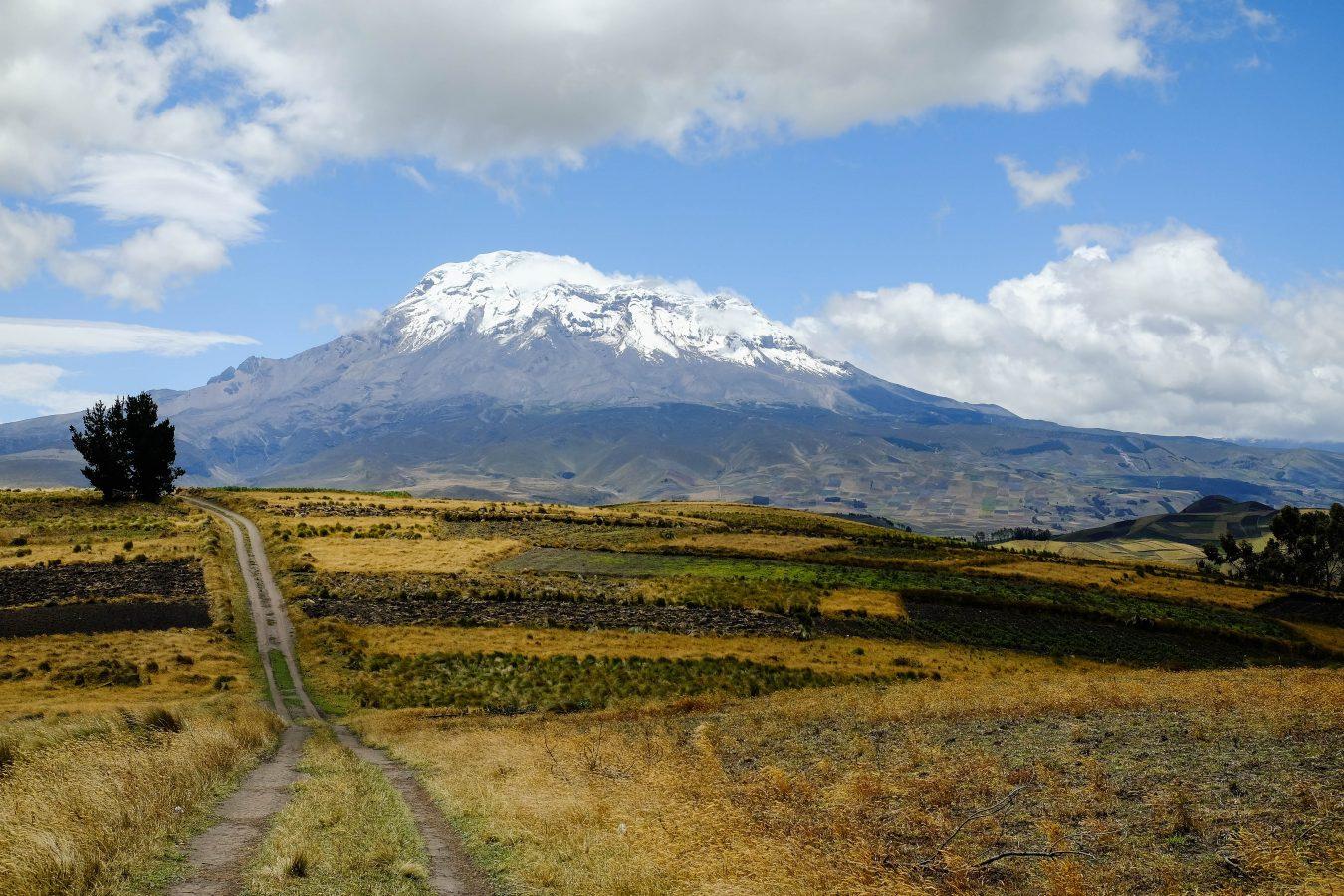Le volcan Chimborazo, en Equateur