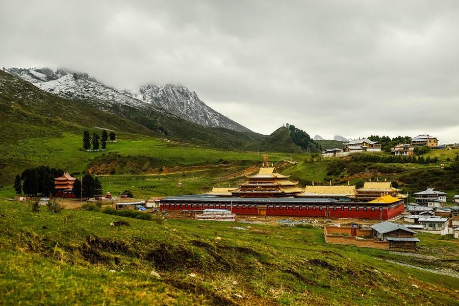Monastère de Langmusi, en Chine.