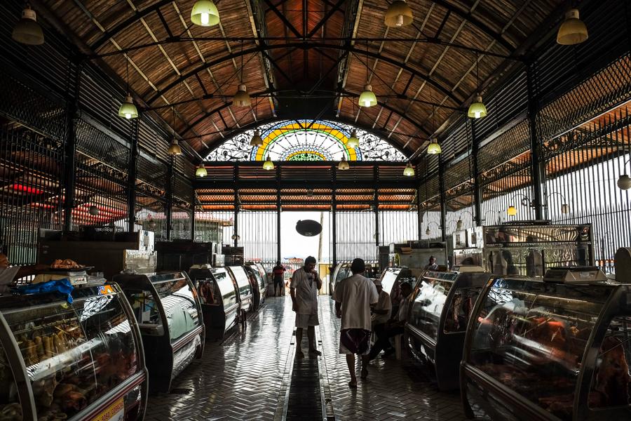Les halles du marché de Manaus, en Amazonie brésilienne.
