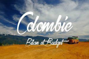 Bilan et budget d'un voyage en Colombie.
