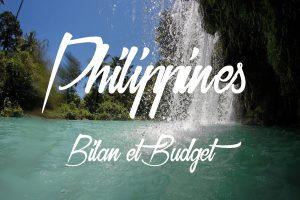 Bilan et budget d'un séjour dans les Visayas et à Luzon aux Philippines.