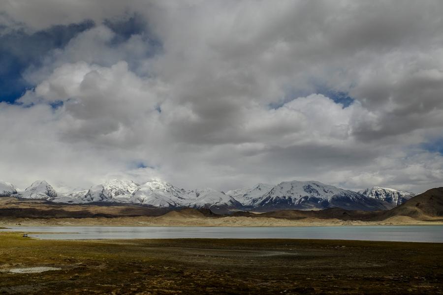 Paysage de la Karakoram Highway côté chinois.