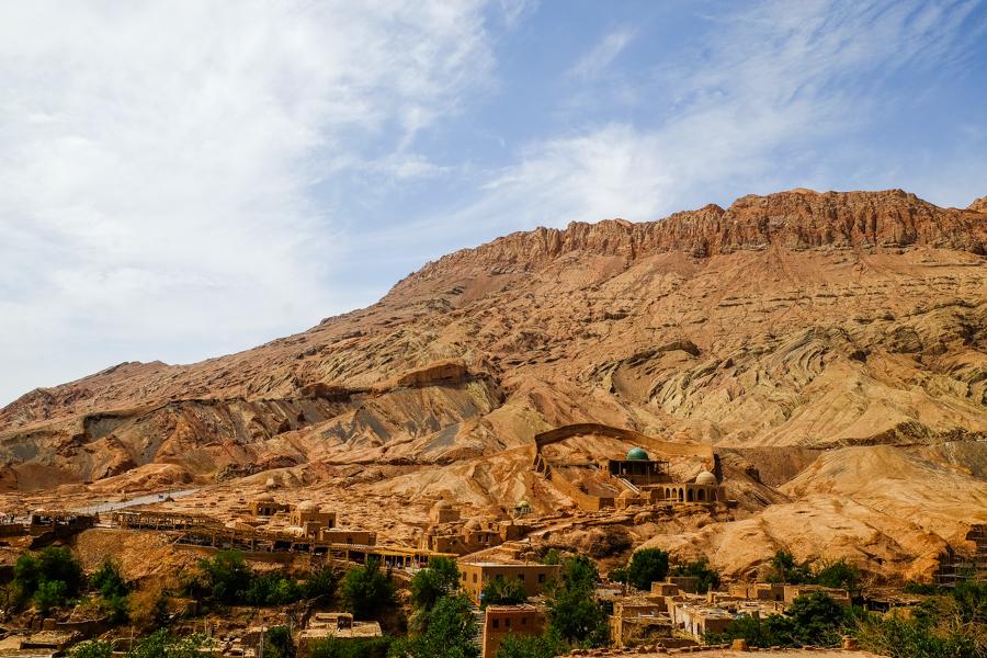 La vallée de Tuyoq, dans la région de Turpan, en Chine.