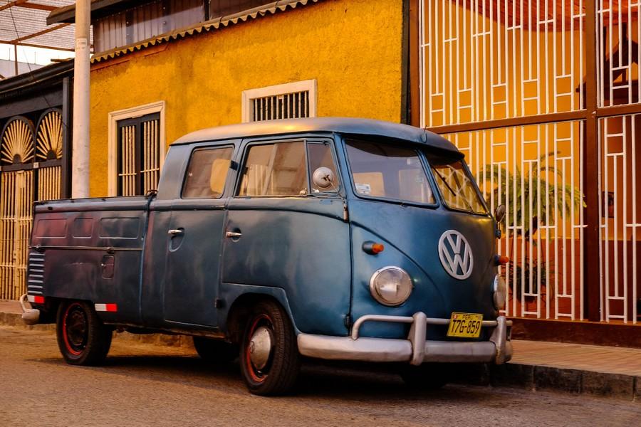 Combi VW à Huanchaco.