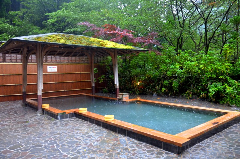 Onsen de Kurama, près de Kyoto, Japon.