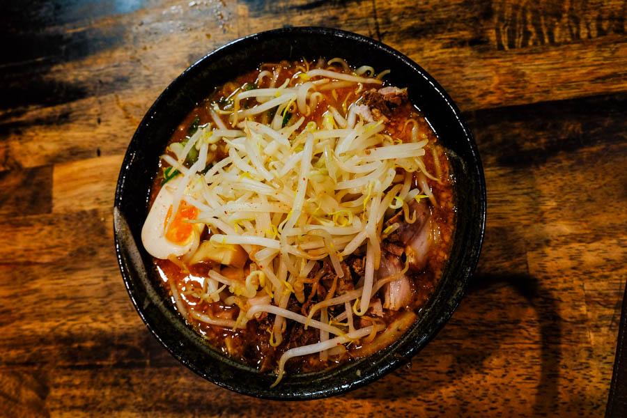 Le meilleur miso ramen de Kyoto.
