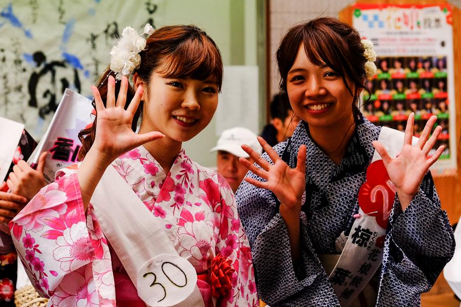 Qui sera élue Miss Osaka ?