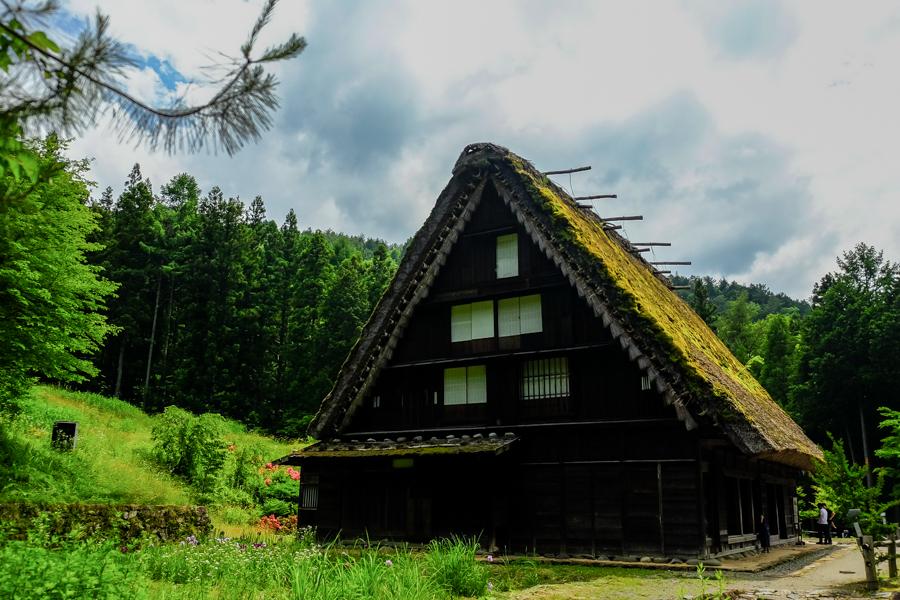 Le village folklorique de Hida, près de Takayama, Japon.