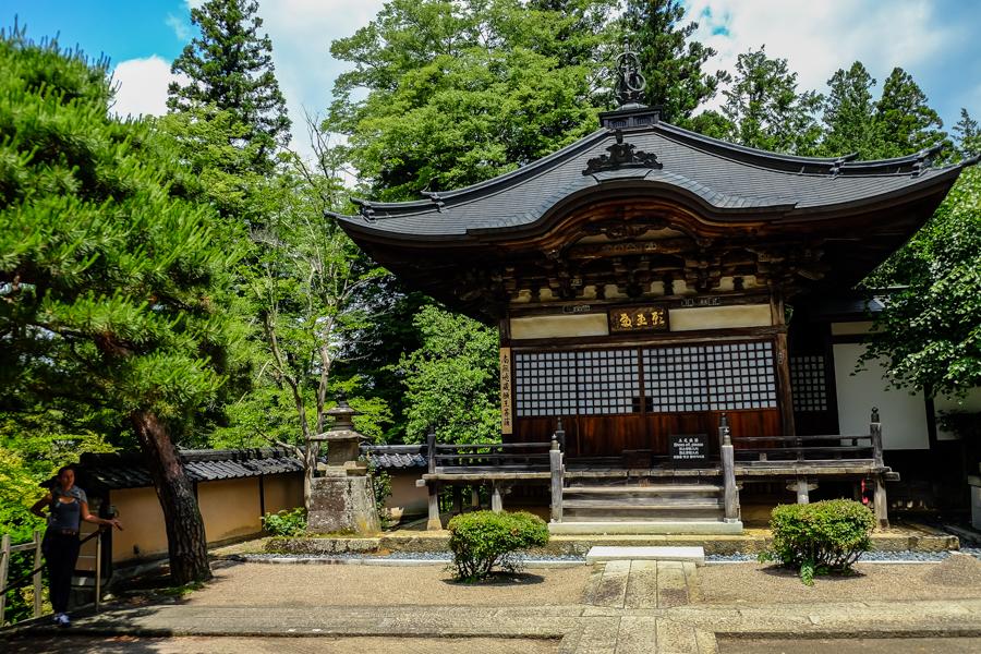 Temple de Sogen-Ji à Takayama, Japon.