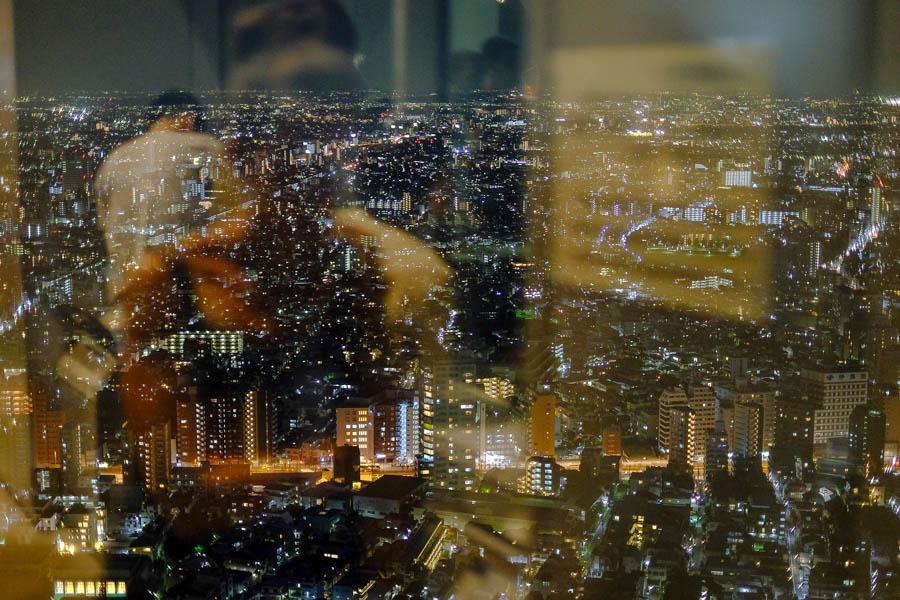 Vue depuis la tour Tokyo Metropolitan Government, au Japon, une belle activité gratuite à Tokyo.