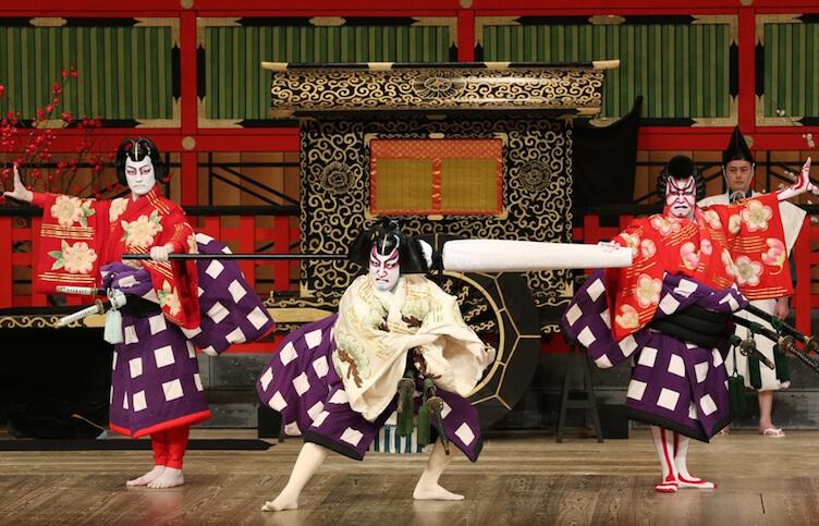 Le théâtre Kabuki, l'une des activités à petit budget à Tokyo.