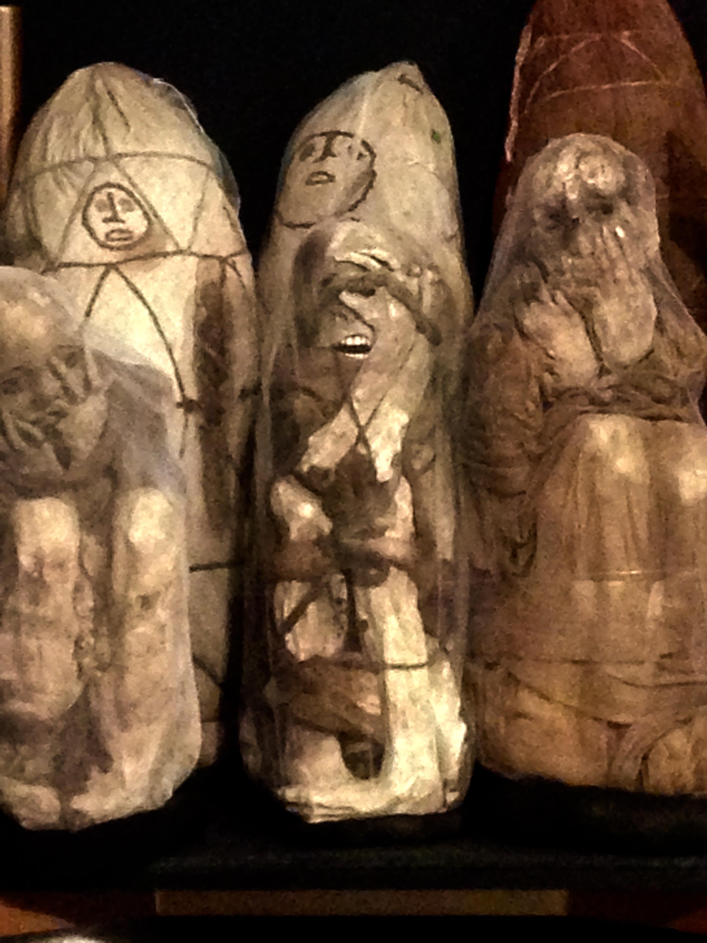 Momies Chachapoyas au musée de Leymebamba au Perou