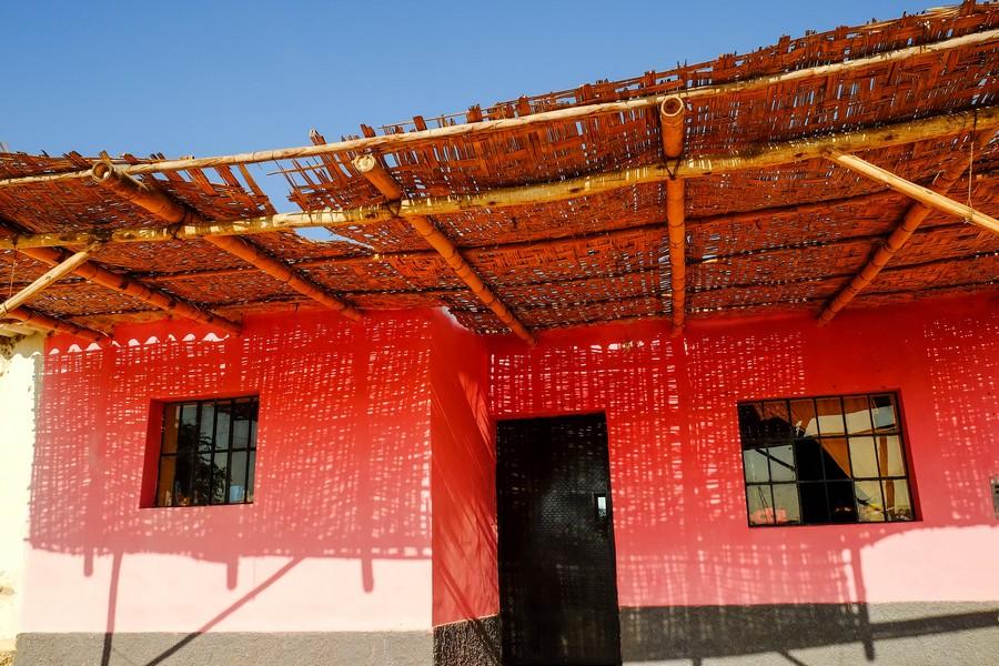 Maison ombragée à Chiclayo, Perou
