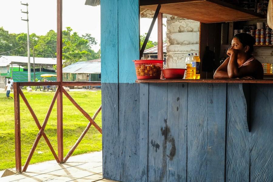 Un dimanche en Amazonie, communauté Barrio Florido. Pérou.